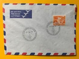 8072 - Scoutisme Saignelegier 31.07.1956 5e Camp National Des éclaireurs Suisses - Timbres