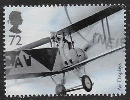 GROSBRITANNIEN GRANDE BRETAGNE GB  2008 AIR DISPLAYS: PARACHUTIST 72P SG 2859 SC 2591 MI 2662 YV 3040 - Usados