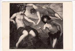 IACOPO TINTORETTO, Bacco E Arianna, Bacchus And Ariadne, Unused Postcard [23090] - Paintings