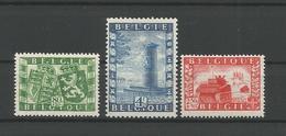 Belgium 1950 Belgo-British Union OCB 823/825 ** - Belgique
