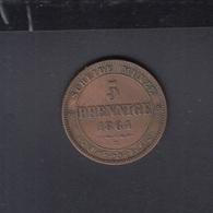 Sachsen 5 Pfennige 1864 - Piccole Monete & Altre Suddivisioni