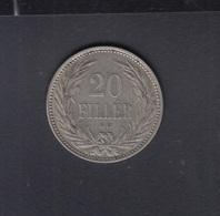 Hungary 20 Filler 1893 - Ungarn