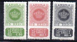 XP1794 - ANGOLA PORTOGHESE 1950 , Yvert  N. 323/325  ***  MNH  Luanda - Angola