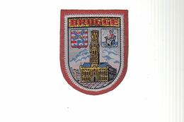 ECUSSON Tissu Brodé - BRUGGE - Ecussons Tissu
