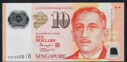 SINGAPORE  P48k 10 DOLLARS  2015 #5QC  1 Hollow House AU-UNC. - Singapour
