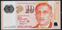 SINGAPORE  P48k 10 DOLLARS  2015 #5NE  1 Hollow House AU-UNC. - Singapour