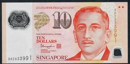 SINGAPORE  P48l 10 DOLLARS  2016 #5RZ 2 Hollow Houses VF NO P.h. - Singapour