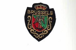 ECUSSON Tissu Brodé - BRUSSELS - BRUXELLES - Ecussons Tissu
