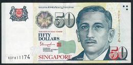 SINGAPORE  P49h  50 DOLLARS  2015   #5DF   1 Star   XF  NO P.h. - Singapore