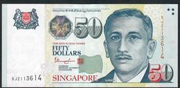 SINGAPORE  P49i  50 DOLLARS  2017   #5JZ   2 Stars   XF  NO P.h. - Singapore