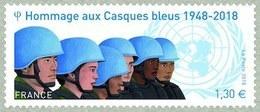 N°5220** Les Casques Bleus - France