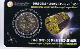 Belgio - 2 Euro Commemorativo 2018 - 50° Anniversario Lancio Satellite Europeo - Belgio