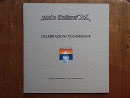 ITALIA - REPUBBLICA - Celebrazioni Colombiane - Foglietto Del Poligrafico Dello Stato/4 Nuovo ** + Spese Postali - Erinnofilia