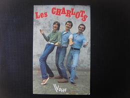 Carte De Les CHARLOTS - Cantanti E Musicisti