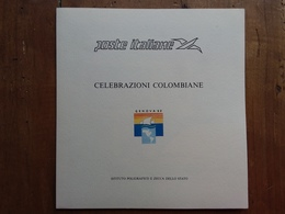 ITALIA - REPUBBLICA - Celebrazioni Colombiane - Foglietto Del Poligrafico Dello Stato/3 Nuovo ** + Spese Postali - Erinnofilia