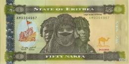 Erythrée 50 Nakfa (P9) 2011 (Pref: AM) -UNC- - Eritrea