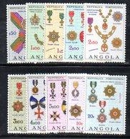 XP4119 - ANGOLA PORTOGHESE 1967 ,   Yvert  N. 541/550  ***  MNH  Medaglie - Angola