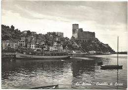 W1922 Lerici (La Spezia) - Castello Castle Chateau Schloss Castillo - Barche Boats Bateaux / Viaggiata 1957 - Autres Villes