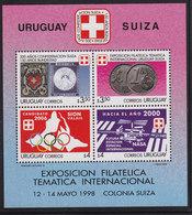 Olympics 2006 - History - URUGUAY - S/S MNH - Winter 2006: Turin