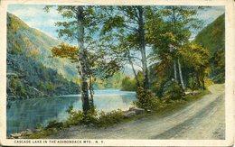 007158  Cascade Lake In The Adirondack Mts. - Adirondack