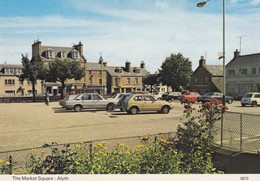 Postcard The Market Square Alyth My Ref  B23425 - Perthshire