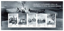 AAT Australian Antarctic Territory 2016 Hurley M/S MNH - Unused Stamps
