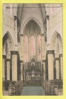 * Melsele (Beveren Waas - Gaverland) * (PIB - P.I.B.) Binnenzicht Der Kerk Van Gaverland, église, Couleur, Autel, Rare - Beveren-Waas
