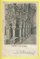 * Diksmuide - Dixmude * (Edition Eug. Van Cuyck) Le Jubé De L'église, Kerk, Church, Kirche, Rare, Old, CPA - Diksmuide