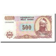 Billet, Azerbaïdjan, 500 Manat, Undated (1993), KM:19b, NEUF - Azerbaïjan