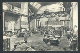 +++ CPA - Bruxelles - MOLENBEEK - Atelier Fonderie - Rue De Ransfort - Compagnie Des Bronzes  // - St-Jans-Molenbeek - Molenbeek-St-Jean