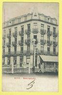 * Heist Aan Zee - Heyst (Kust - Littoral) * (Editeur Jules Nahrath) Hotel Splendid, Animée, Digue, Dijk, Rare - Heist