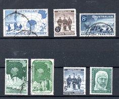 AAT Australian Antarctic Territory Michel 1-7 USED - Oblitérés