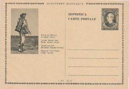 Slovakia Postal Stationery, Hlinka, 1939. - Entiers Postaux