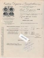 Facture 1945 / Tuilerie Paul DEPIERRE / 88 Grandvillers Vosges / Gare Bruyères - Other