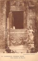Angkor Tom - Une Fenetre Du Bayon - Cambodge