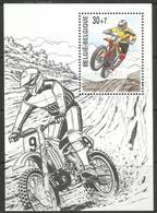 Belgium - 1999 Motor Bikes S/sheet (charity) MNH ** - Unused Stamps