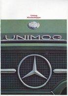 AD213 Mercedes-Benz, Prospekt UNIMOG Allradschlepper, Auflage 06/1970, Deutsch: - Publicité