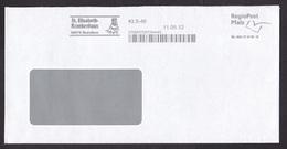 Germany: Cover 2012, Meter Cancel Local Private Postal Service RegioPost Pfalz, St Elizabeth Hospital (backflap Missing) - [7] West-Duitsland