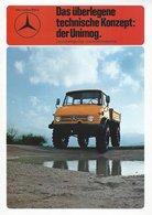 AD214 Mercedes-Benz, Das überlegene Technische Konzept, Der UNIMOG 06/1975, Deutsch: - Publicité