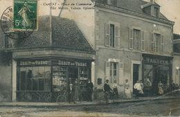 Coust Place Du Commerce Edit Martin Epicerie Tabacs . Maison De L' Editeur . Pli Coin Inf. Droit - France