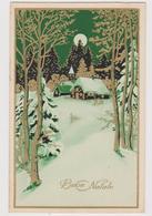 Cartolina Illustrata Di Buon Natale - F.p.- Anni '1920 - Altri