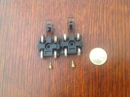 Lot De 2 Boogies Doubles Avec Vis De Blocage Marque Jouef For Playcraft - Trains électriques