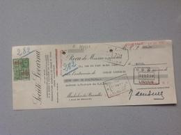 Machelen Lez Bruxelles Société Lovarna Manufacture Vernis Et Email 1938 - Belgique