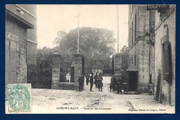 Longwy-Haut. Entrée De La Caserne Du 9 ème Bataillon De Chasseurs à Pied. 1907 - Caserme