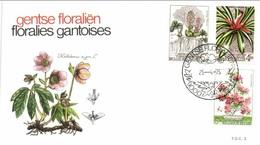 111-09 1749 1751 FDC 3 Floralies Gantoises 25-4-1975 9000 Gent - FDC