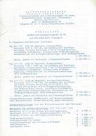 AD218 Mercedes-Benz, Preisliste Trebitsch Wien Für UNIMOG 411 - 110/112/117, 1962 - Publicité