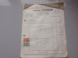Liege Machines à Coudre Facture 1937 - Belgique