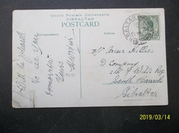 Gibraltar: 1914 PPC To Gibraltar (#BP4) - Gibraltar