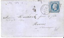 20c.Empire Non Dentelé Oblitéré Losange CP3° Ambulant De Nuit CALAIS A PARIS 3° - Postmark Collection (Covers)