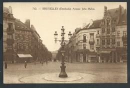 +++ CPA - Bruxelles - ETTERBEEK - Avenue Jules Malou - Henri Georges  // - Etterbeek